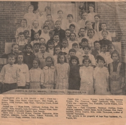 Dixie Parham (front row, 4th from right)